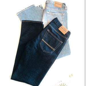 Abercrombie and Fitch skinny jeans bundle of 2